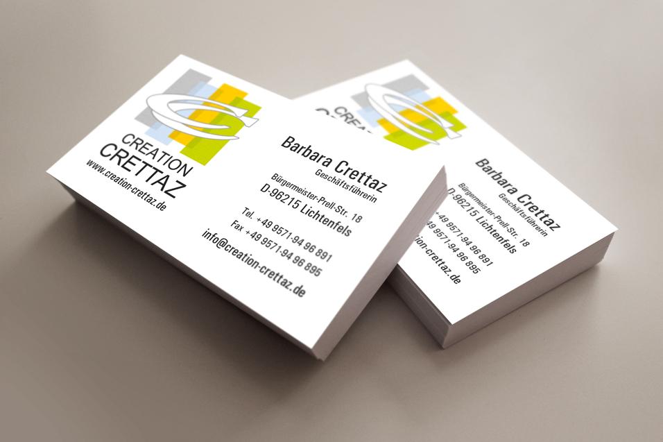 Creation Crettaz Druckprofi Offsetdruck Digitaldruck