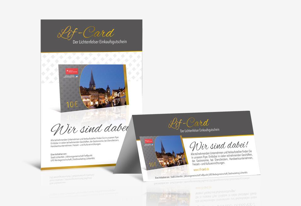 Lif-Card - Druckprofi. Offsetdruck | Digitaldruck | Digitale Medien